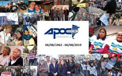 ¡APOC cumple 57 años!