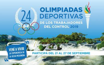 XXIV Olimpiadas deportivas del control