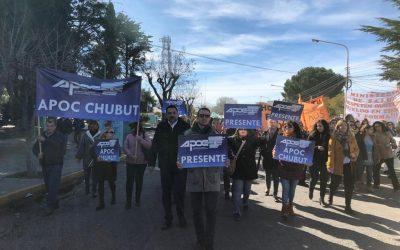 Continúan las medidas de fuerza en APOC CHUBUT