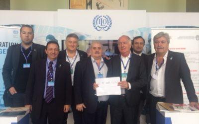 Hugo Quintana en la 105° Reunión de la Conferencia Internacional del Trabajo