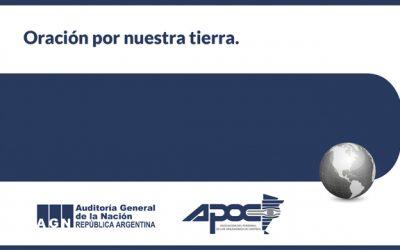 APOC adhiere al Día de la Oración por el Medioambiente