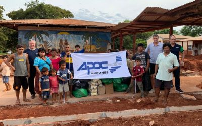 Se entregaron más de 800 kilos en donaciones a la comunidad Iriapu en Misiones