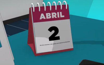 """Documental 2 de abril   """"Día del Veterano y de los Caídos en la Guerra de Malvinas"""""""