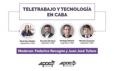 Charla | Teletrabajo en CABA