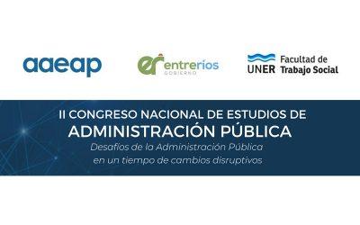 II Congreso Nacional de Estudios de la Administración Pública