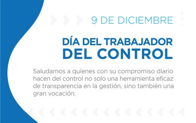 9 de diciembre | Día del Trabajador del Control