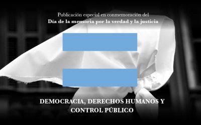 """Presentación de la publicación """"Democracia, Derechos Humanos y control público: El rol de los trabajadores"""""""