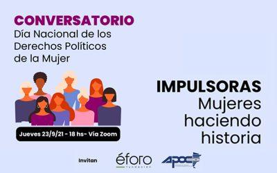 Conversatorio | Impulsoras: Mujeres haciendo historia